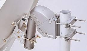 Motorised satellite installing