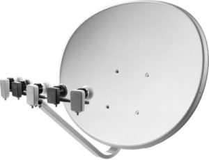 Multi LNB Satellite dish system